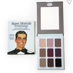 ☀️NEW! The Balm Matte Trimony Eyeshadow palate